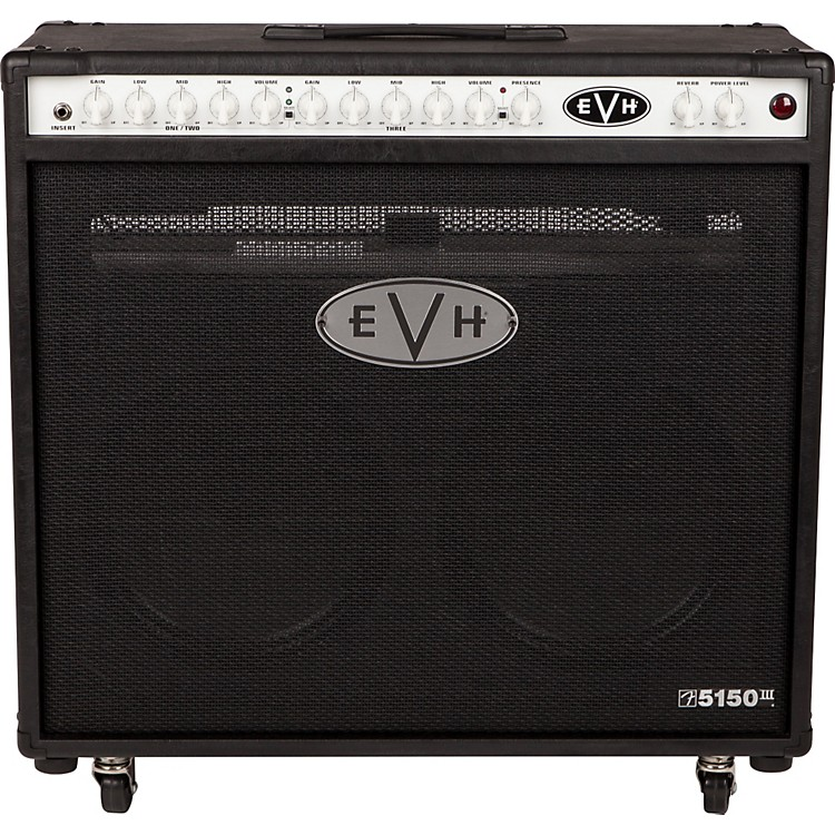 EVH 5150III 2x12 50W Tube Guitar Combo Amplifier Black