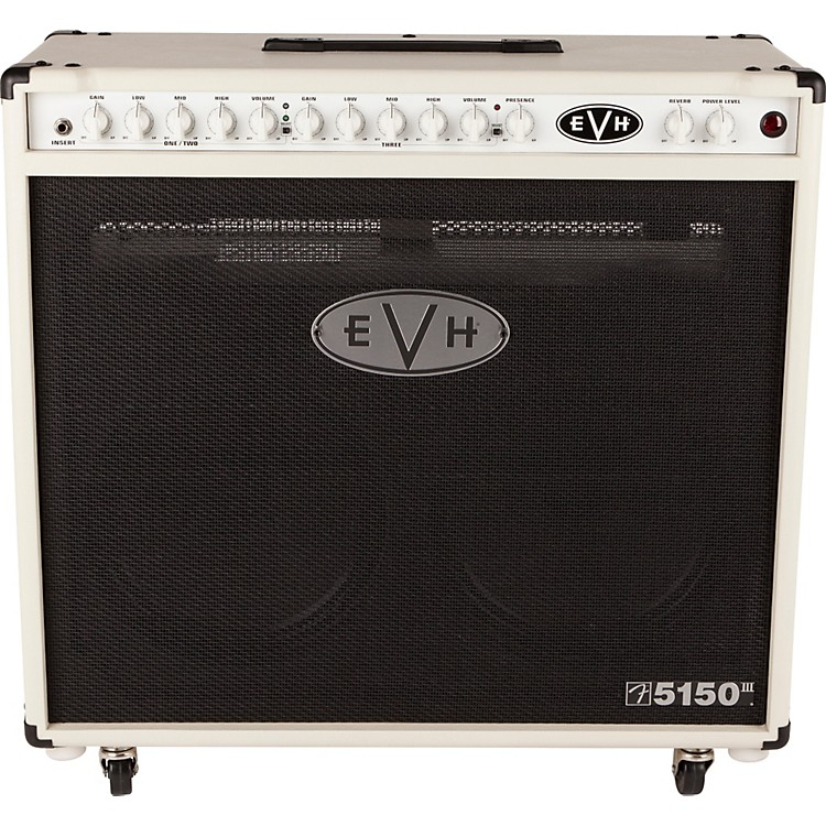 EVH 5150III 2x12 50W Tube Guitar Combo Amplifier Ivory