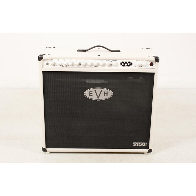 EVH 5150III 2x12 50W Tube Guitar Combo Amplifier Ivory 888365893419