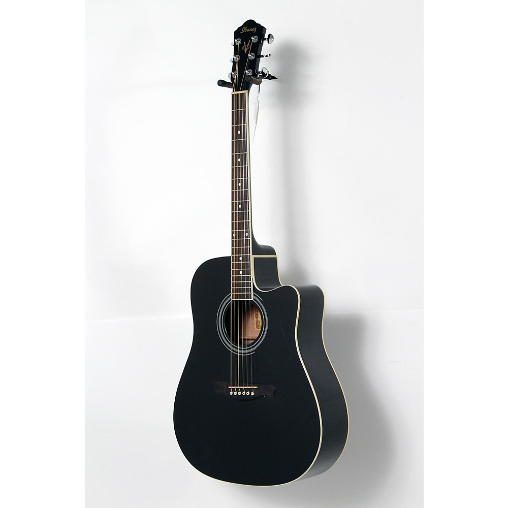 ibanez v70ce acoustic electric guitar black 190839095626 ebay. Black Bedroom Furniture Sets. Home Design Ideas