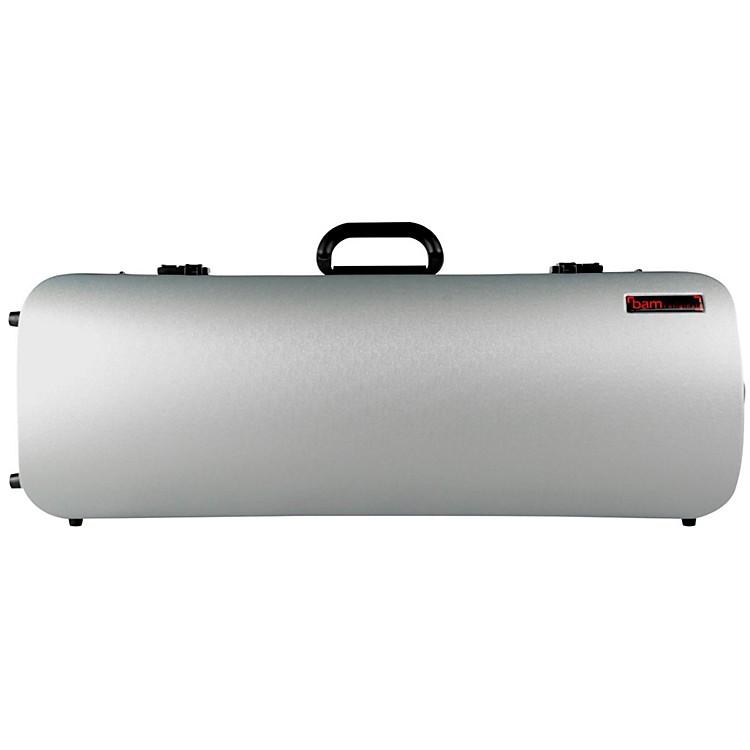 Bam5201XL Hightech Compact Adjustable Viola Case without PocketMetallic Silver