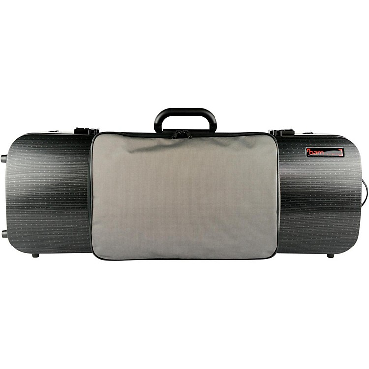 Bam5202XL Hightech Compact Adjustable Viola Case with PocketBlack Lazure