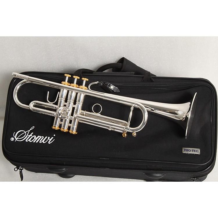Stomvi5336 Elite 330-ML Lightweight Series Bb TrumpetSilver886830227523