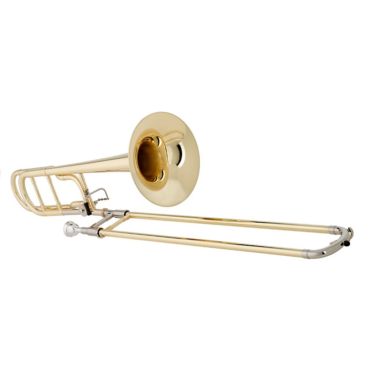 Getzen 547 Capri Series F Attachment Trombone Lacquer Yellow Brass Bell