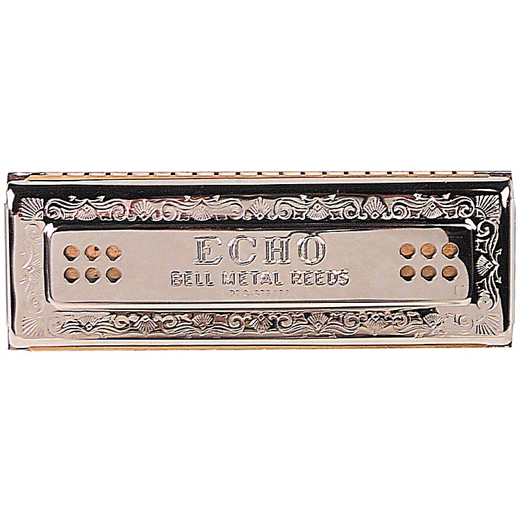 Hohner55/80 Echo HarmonicaKey of C-G