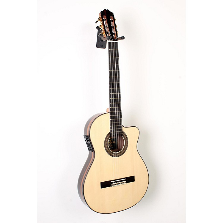Cordoba55FCE Flamenco Macassar Ebony Acoustic-Electric Nylon String Flamenco GuitarNatural888365900148
