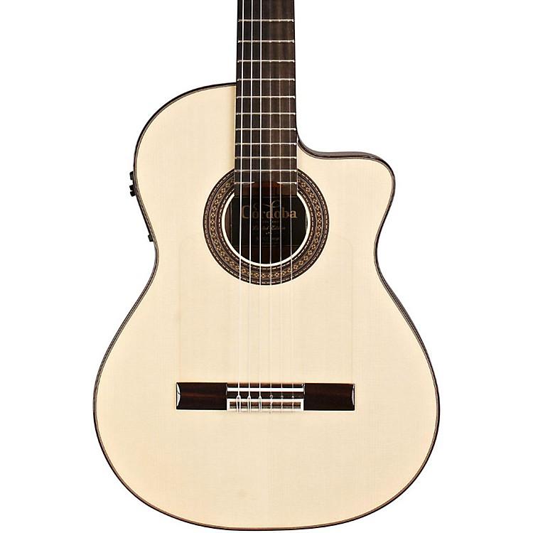 Cordoba55FCE Flamenco Macassar Ebony Acoustic-Electric Nylon String Flamenco GuitarNatural