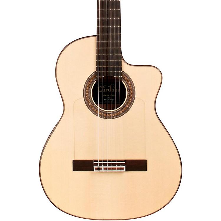 Cordoba55FCE Thinbody Limited Flamenco Acoustic-Electric Guitar