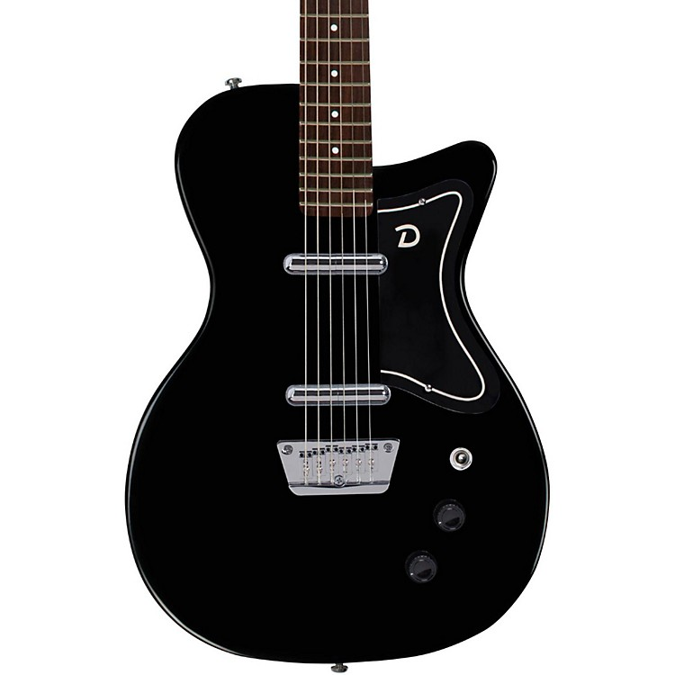 Danelectro '56 Baritone Electric Guitar Black