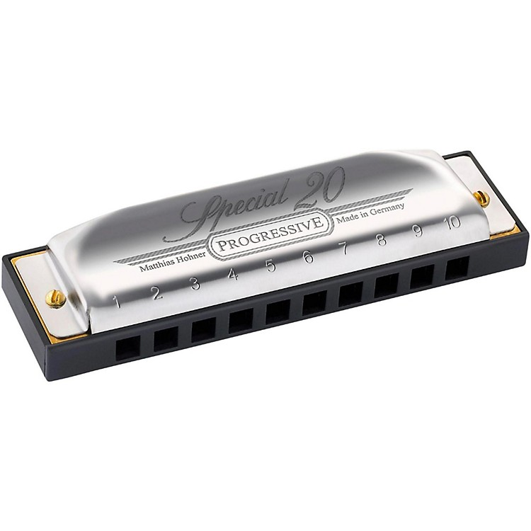 Hohner 560 Special 20 Harmonica with Country Tuning A