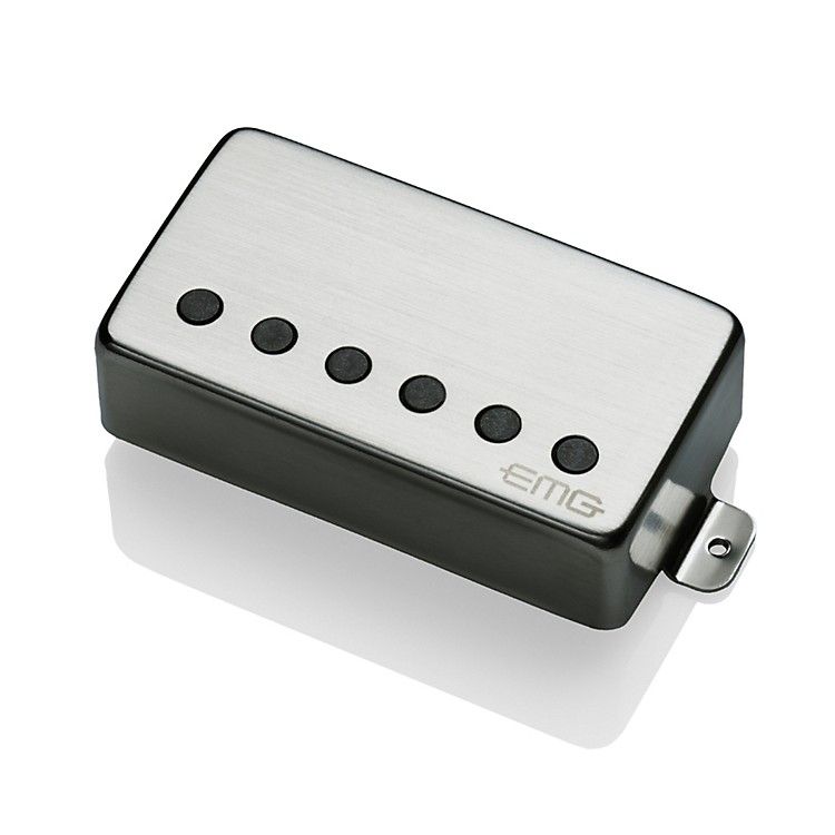 EMG 57-B Humbucker Guitar Bridge Pickup Brushed