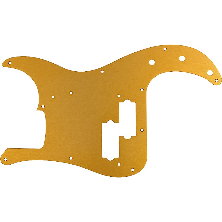 Fender '57 Precision Bass 10 Hole Pickguard Gold Anodized