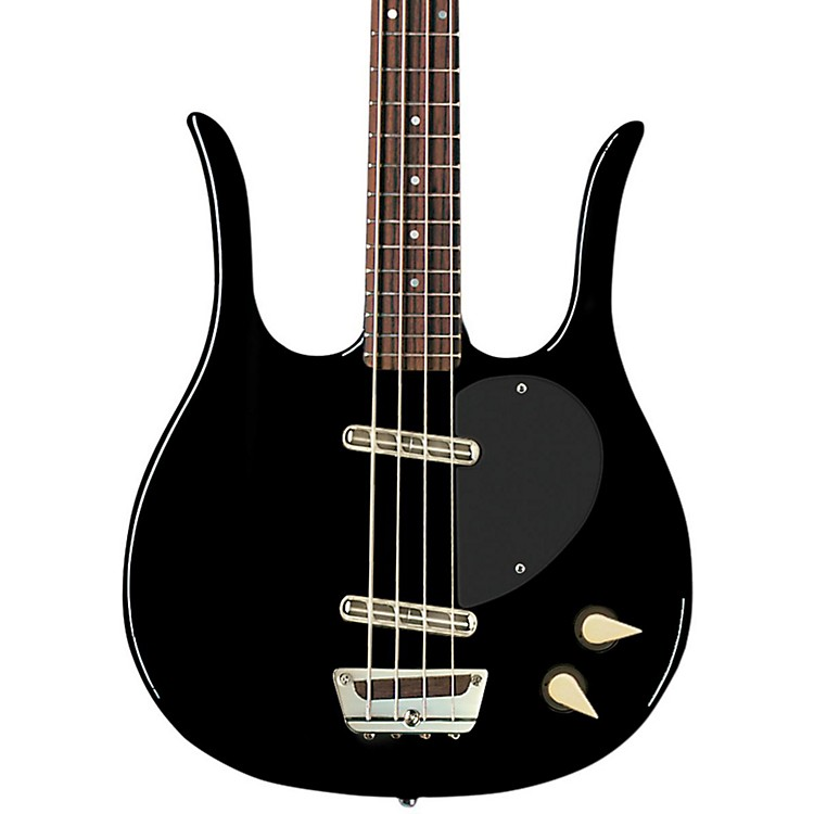 Danelectro '58 Longhorn Bass Electric Bass Guitar Black