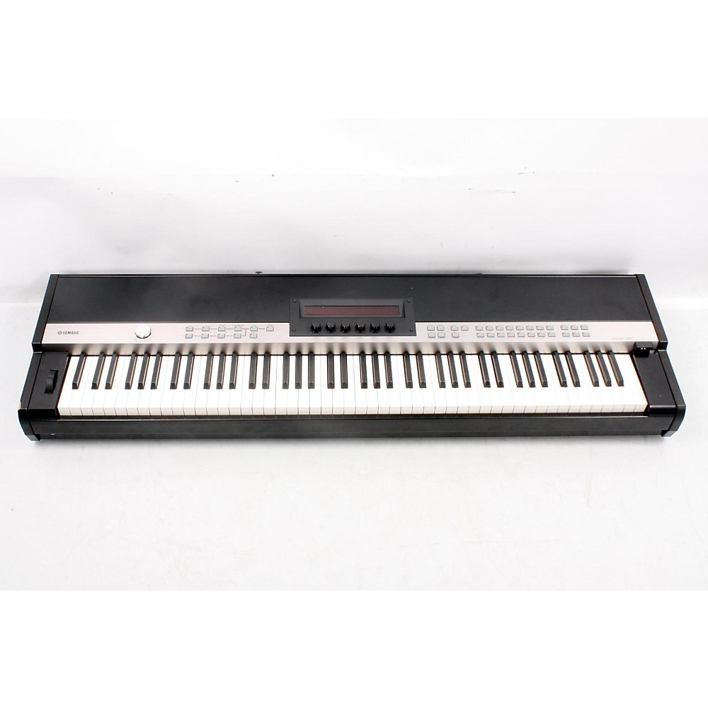 yamaha cp1 88 key stage piano black 888365489995 ebay. Black Bedroom Furniture Sets. Home Design Ideas