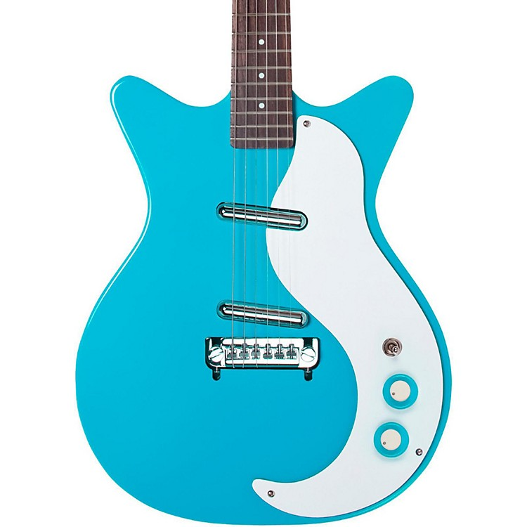 Danelectro'59 Modified New Old Stock Electric GuitarBaby Come Back Blue