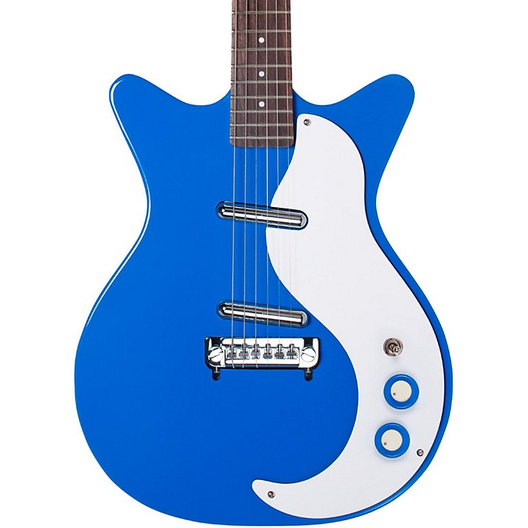 Danelectro '59 Modified New Old Stock Electric Guitar Go-Go Blue