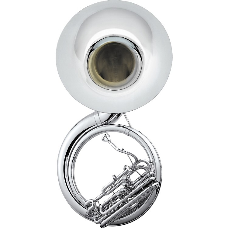 Jupiter 590 University Quad Series Brass 4-Valve BBb Sousaphone Silver