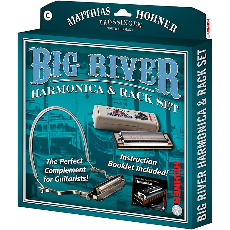 Hohner 590X Big River Harmonica Instruction Pack C