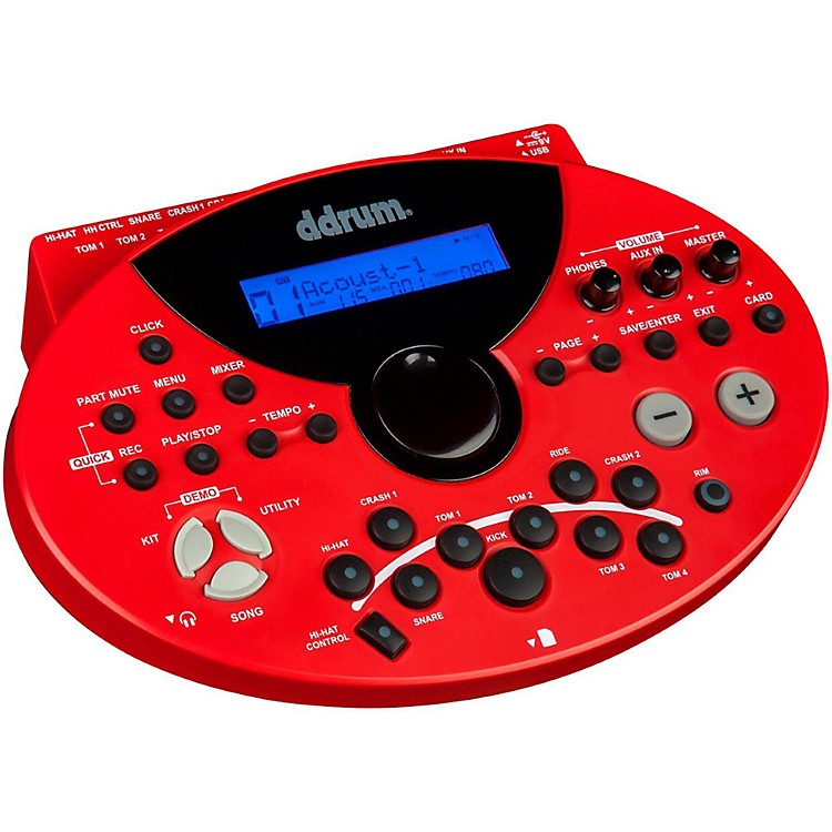 Ddrum5xm Series Electronic Drum Module