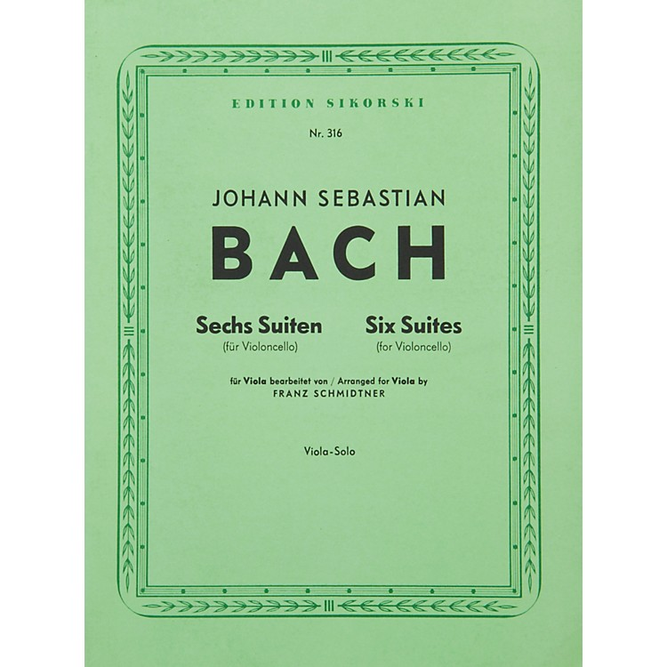 Hal Leonard6  Bach Suites: Viola