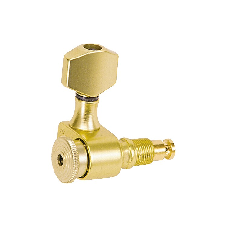 Sperzel 6 In-Line Locking Tuners Gold