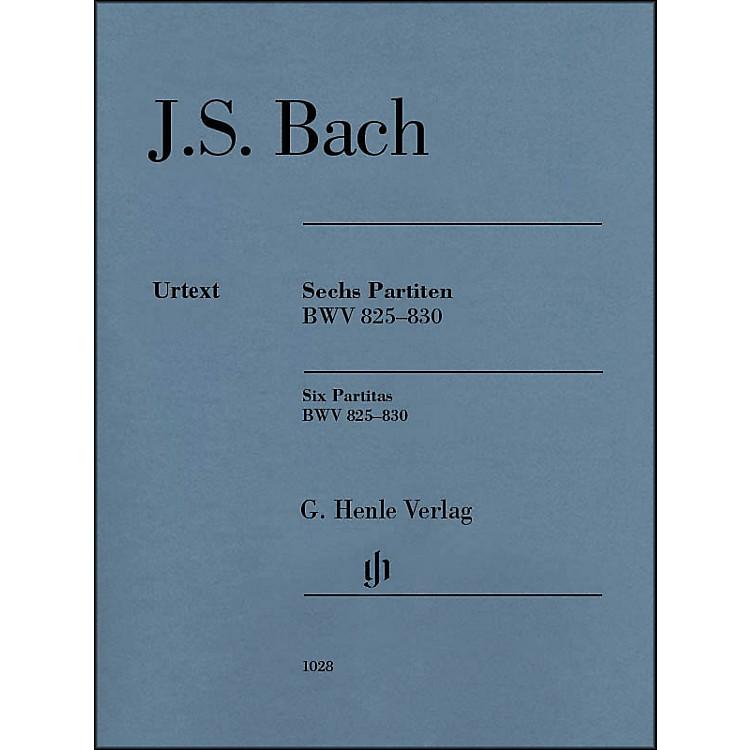G. Henle Verlag6 Partitas BWV 825-830 By Bach