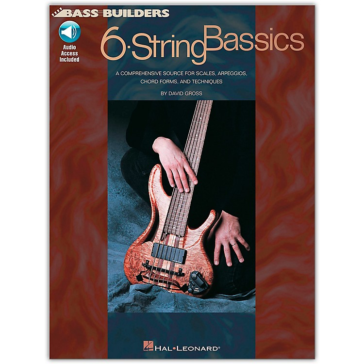 Hal Leonard 6-String Bassics (Book/CD)
