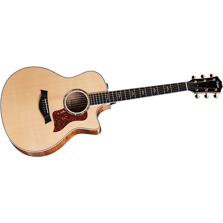 Taylor600 Series 616ce Grand Symphony Cutaway Acoustic-Electric Guitar (2010 Model)