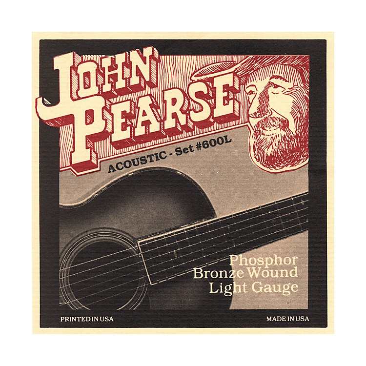 John Pearse600L Bronze Acoustic Guitar Strings