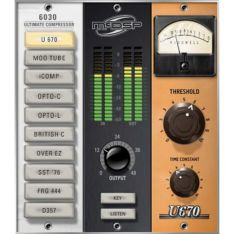 McDSP 6030 Ultimate Compressor HD v5 Software Download