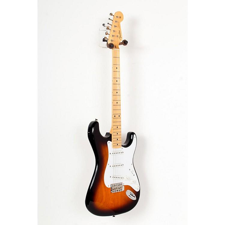 Fender60th Anniversary American Vintage 1954 Stratocaster Electric Guitar2-Color Sunburst, Maple Fingerboard888365726953