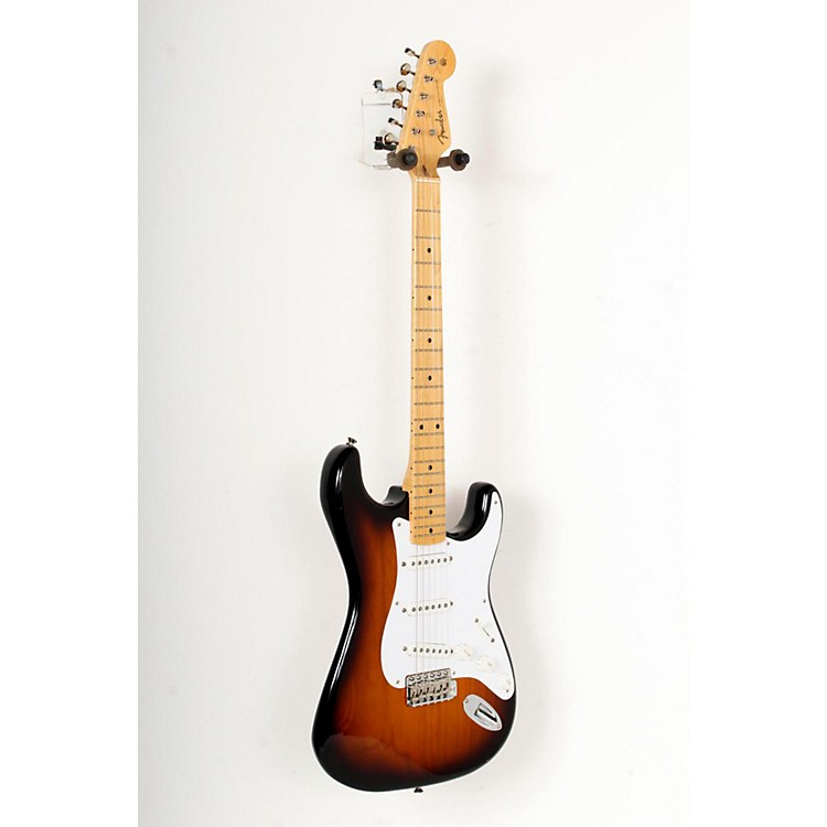 Fender 60th Anniversary American Vintage 1954 Stratocaster Electric Guitar 2-Color Sunburst, Maple Fingerboard 888365771915