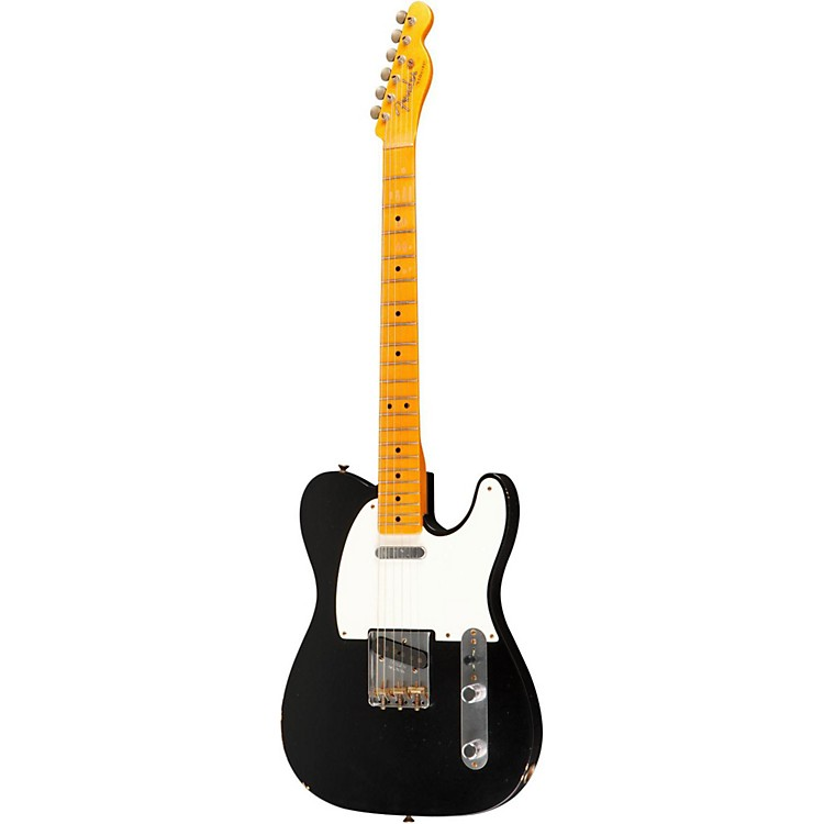 Fender Custom Shop 60th Anniversary Series Esquire 2-Pickup Electric Guitar Black