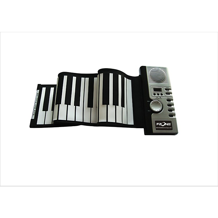 FZone 61-Key Roll Up Electric Piano 61-Key