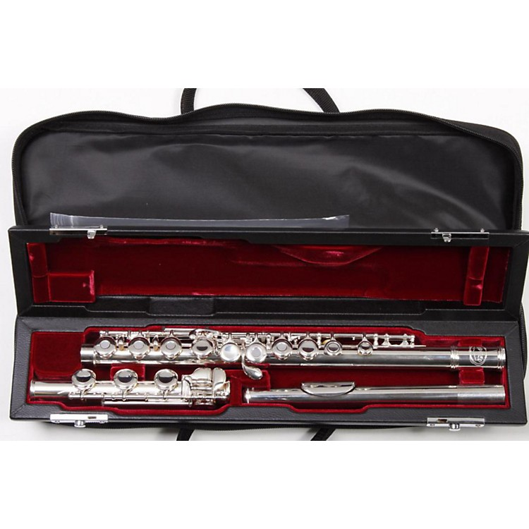 Jupiter 611 Series Intermediate Flute Open Hole, Offset G, B Foot, Gizmo Key, Split E 886830485343