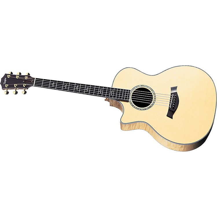 Taylor614CE Left-Handed Grand Auditorium Acoustic-Electric Guitar (2010 Model)