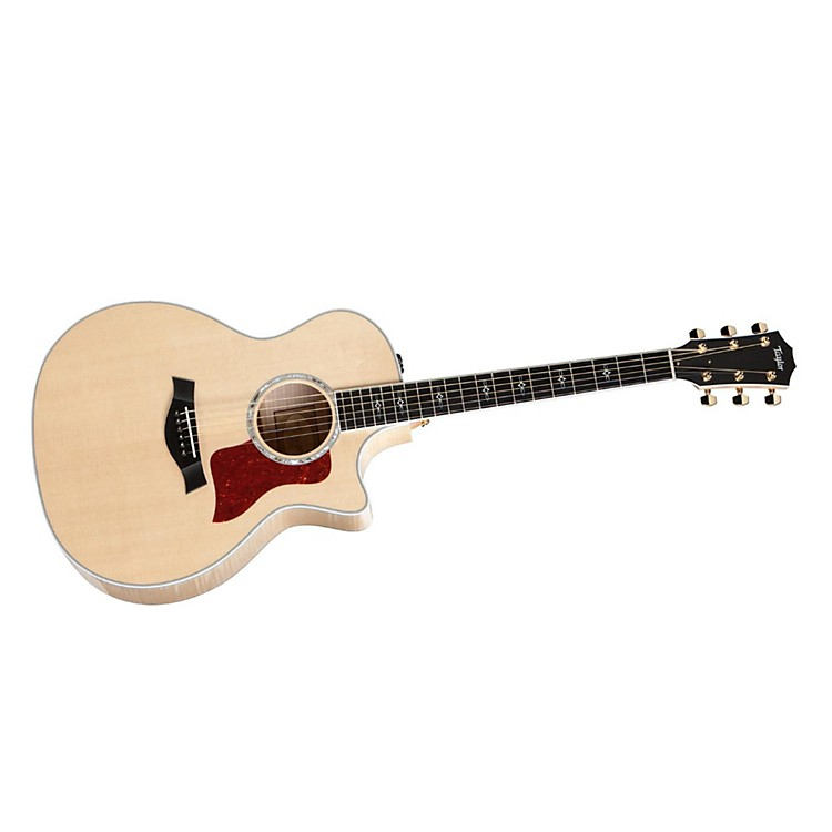 Taylor 614ce Maple/Spruce Grand Auditorium Acoustic-Electric Guitar Natural