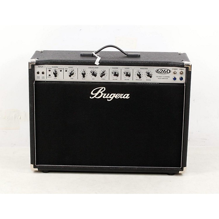 Bugera 6260 120W 2x12 2-Channel Tube Guitar Combo Amp with Reverb Regular 888365024141