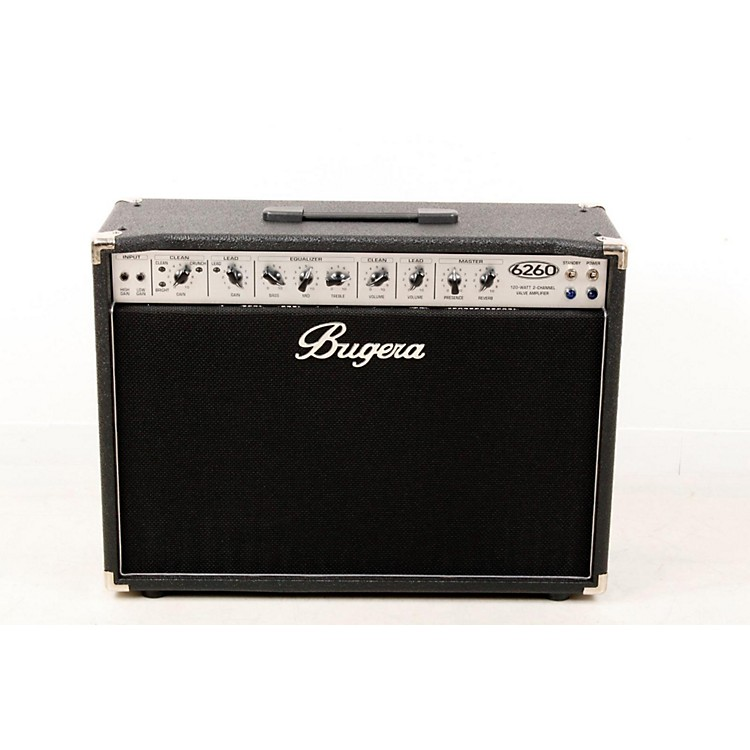 Bugera6260 120W 2x12 2-Channel Tube Guitar Combo Amp with Reverb888365491394