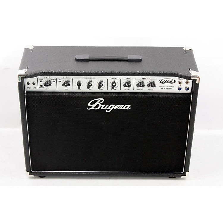 Bugera 6260 120W 2x12 2-Channel Tube Guitar Combo Amp with Reverb  888365511658