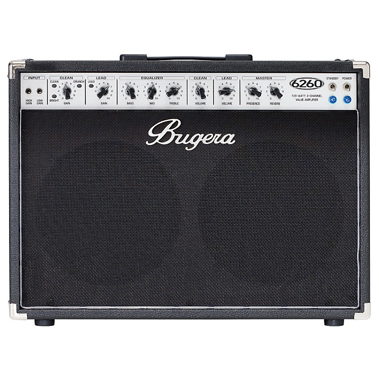Bugera6260 120W 2x12 2-Channel Tube Guitar Combo Amp with Reverb
