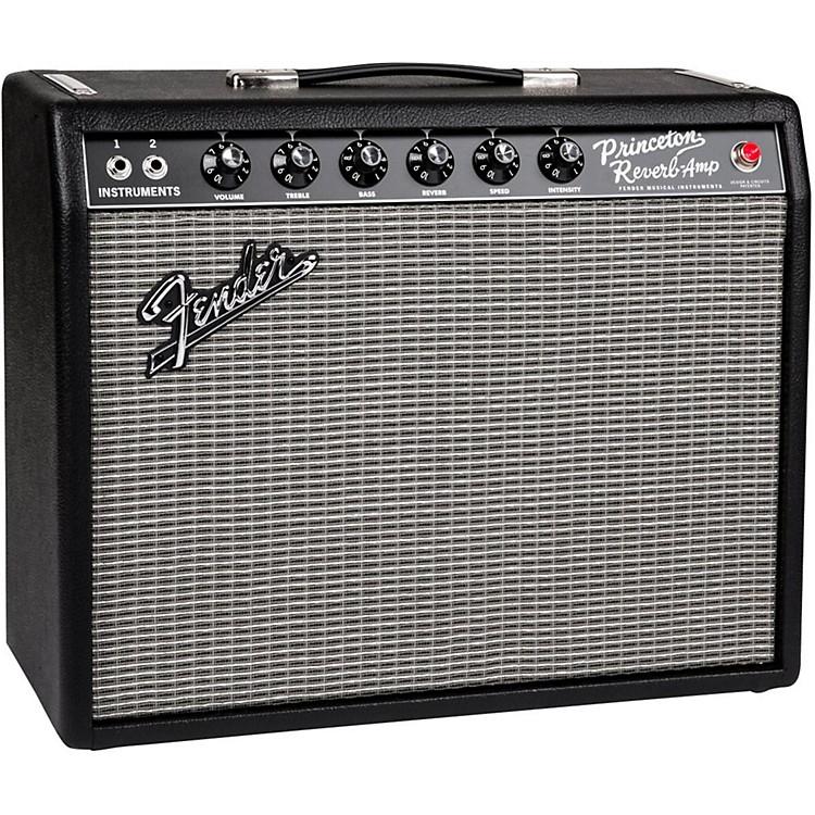 Fender65 Princeton Reverb 15W 1x10 Tube Guitar Combo AmpBlack