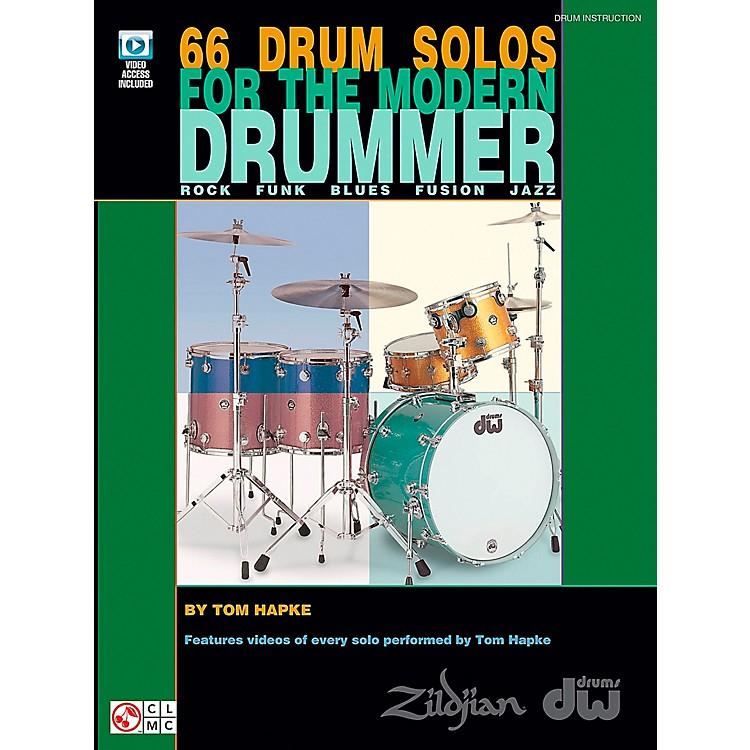 Cherry Lane66 Drum Solos For The Modern Drummer (Book/DVD)