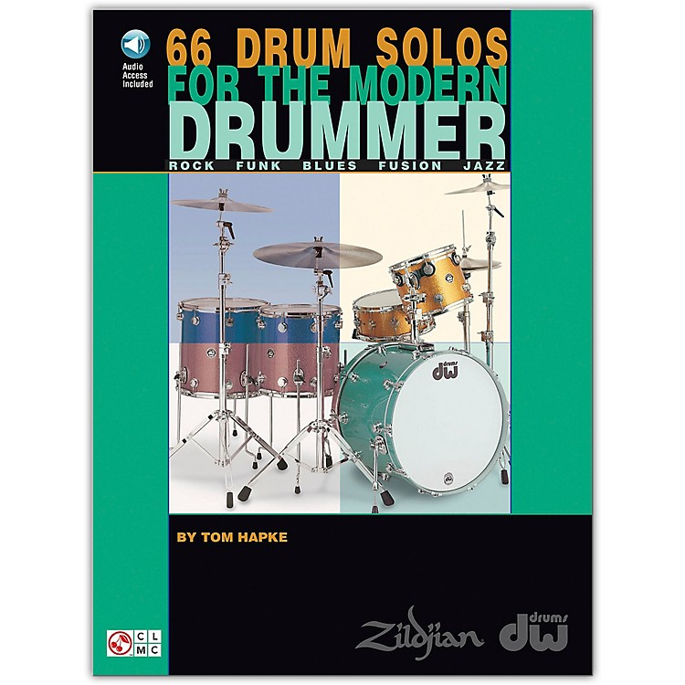 Hal Leonard66 Drum Solos for the Modern Drummer Book/CD