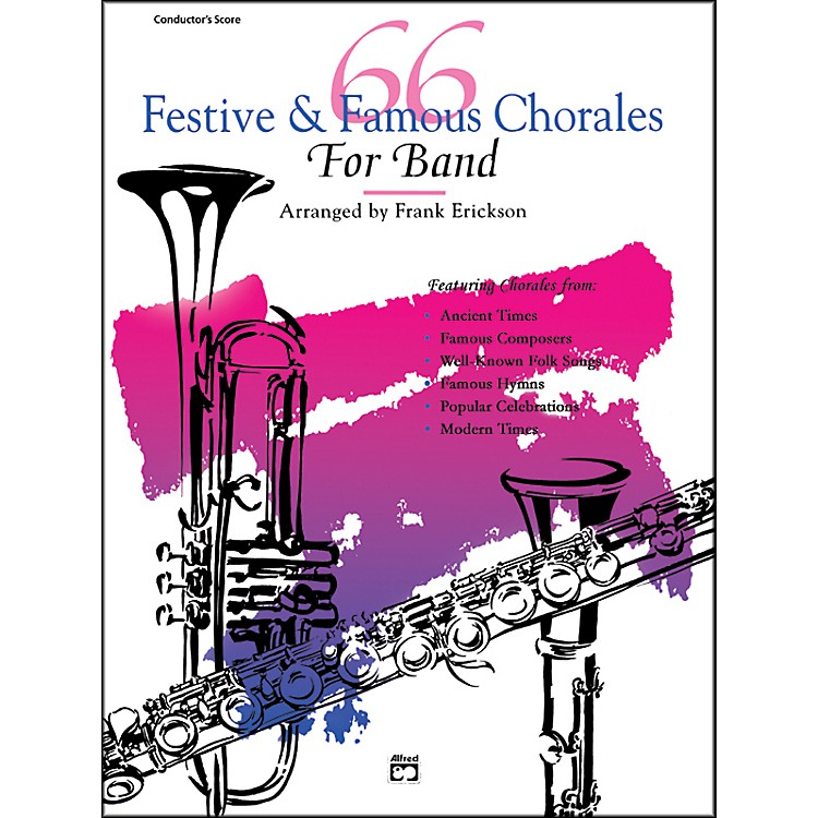 Alfred66 Festive and Famous Chorales for Band 2nd E-Flat Alto Saxophone