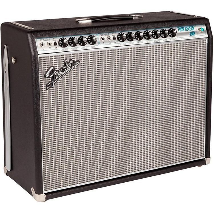 Fender'68 Custom Twin Reverb 85W 2x12 Tube Guitar Combo Amp with Celestion G12V-70s SpeakerBlack