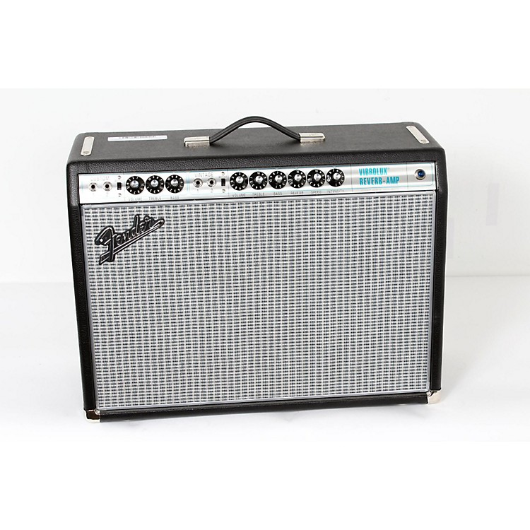 Fender '68 Custom Vibrolux Reverb Guitar Combo Amplifier Regular 888365905334