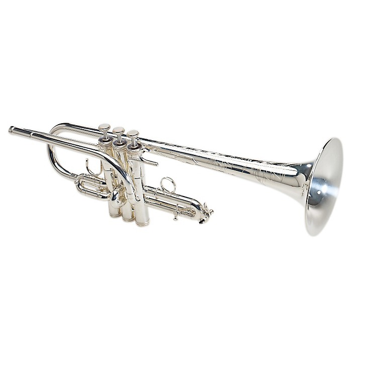 S.E. SHIRES 6MS8-D Custom Series Eb/D Trumpet 6MS8-D-SP Silver