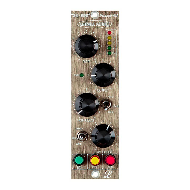 Lindell Audio6X-500 500-Series Microphone Preamp and EQ