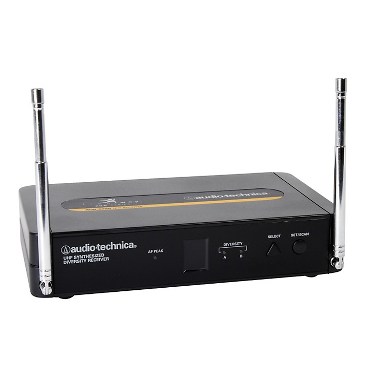 Audio-Technica 700 Series Freeway Wireless System ATW-R700 Receiver 542.125–561 250 MHz (TV 26-29)